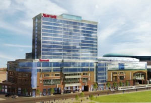 What the new HaborCenter is expected to look like! photo via harborcenter.tumblr.com