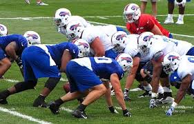 The O-Line! Photo via www.buddynixon.com