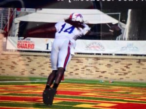 One handed Sammy Watkins! - Photo via deadspin.com