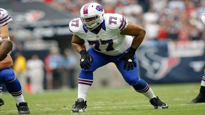 Cordy Glenn is key to the Bills success this year - Photo via www.circlingthewagons.com