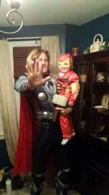 Being a Dad is like being a SuperHero!
