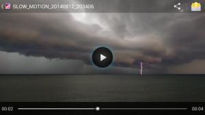 Lightning on the Lake! - Photo via Jack Brodzik
