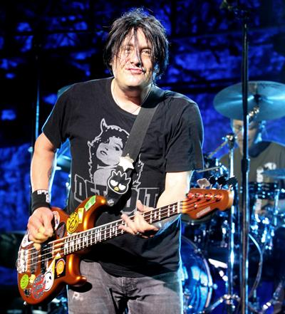 Robby is a Buffalo Resident and is well known for helping to create the Goo Goo Dolls. Photo via www.pollstar.com