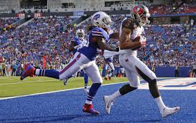 Remember all that talk about Mike Evans? Well he can score! Sadly not for us!  -Phoot via www.tampabay.com