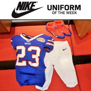 This is what the Bill's are wearing this week! - Photo via @billsequipment