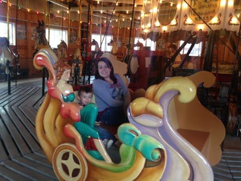Sleigh ride!