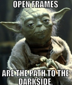 Wise words, Master Yoda.