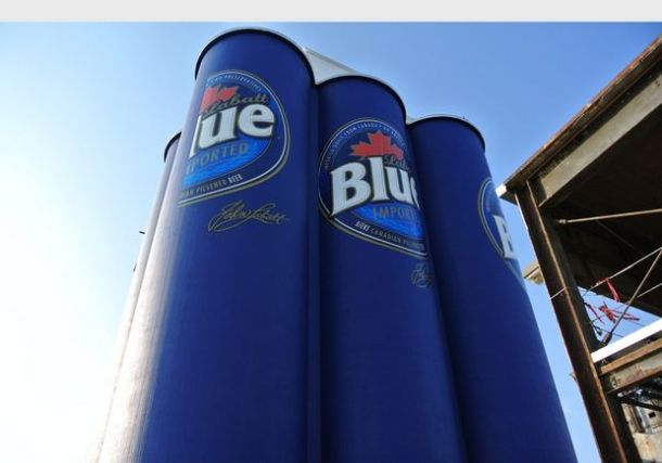 The six pack silos have lots of people talking in Buffalo. - Photo via www.syracuse.com