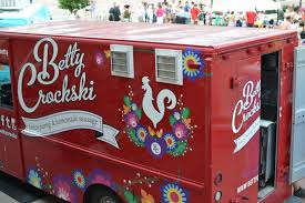 They're truck contains authentic polish folk art. - Photo via www.buffaloeats.org
