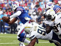 The Charger game was another weak point for the BIlls Offense. - Photo via www.sandiegosportsjunkies.com