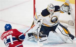 Enroth stonewalled Montreal for two straig games. Photo from mercedsunstar.com
