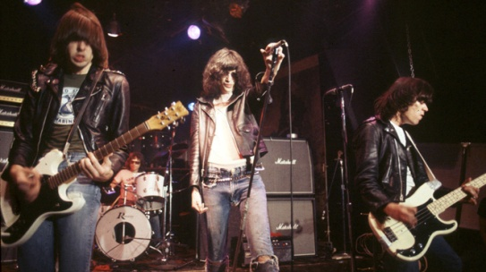When in doubt, Ramones.  Photo from itvs.com