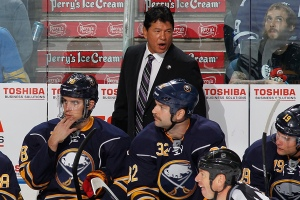 Ted has got the Sabres playing playoff caliber hockey! - Photo via www.si.com
