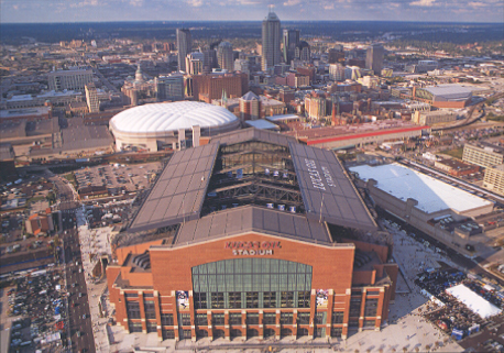 Lucas Oil Stadium is considered a perfect model for the Bills. It cost less than 800 Million and is domed, and has hosted a Super Bowl, and NCAA Final Four - Photo via football.ballparks.com