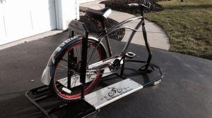 Yeah, that's right.  Ice bikes.  Photo from wgrz.com