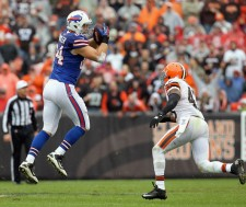 While Chandler proved he can play, is he really a big time TE? - Photo via www.zimbio.com