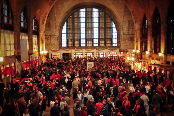 The Central Terminal generally hosts a party each year on Dyngus Day! - Photo via mix96.1
