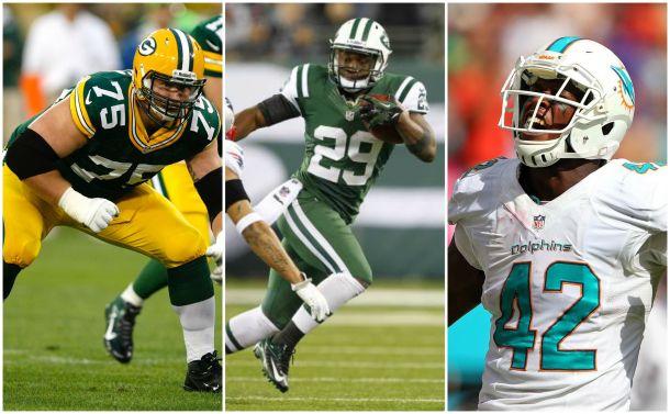 Bulaga, Powell, and Charles Clay are on the Bills radar today! - Photos (L-R) via (AP Photo/Scott Boehm), www.profootballfocus.com, and bleacherreport.com