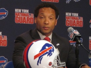 Whaley was hired to manage and should be allowed to do so.  Photo from wbfo.com