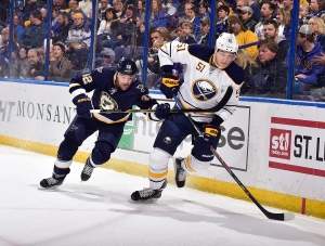 There have been some bright spots for the Sabres. They must not have gotten the memo.... Photo by Scott Rovak/NHLI via Getty Images