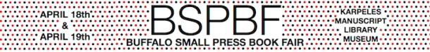 Buffalo Small Press Book Fair at Karpeles Manuscript Library Museum