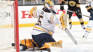 Lindback had a couple of decent games, but was unimpressive.  Photo from foxsports.com