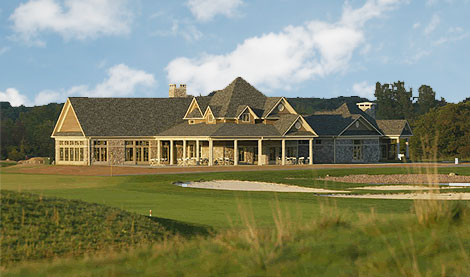 A stunning clubhouse and course setup make the Links at Ivy Ridge one of my favorites! - Photo via www.golfrochesterguide.net