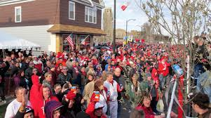 The party is tons of fun, but when the people leave so does any economic benefit ti the area - Photo via dyngusday.com