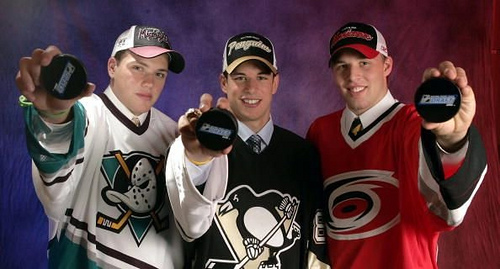 Ryan, Crosby, Johnson.  2005 was quite a class.