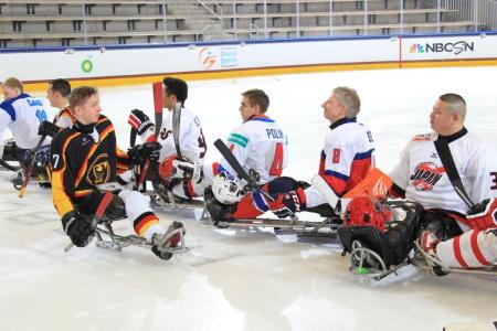 Local athlete Adam Page captained the inaugural skills competition.  Photo from paralympic.org