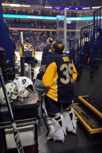 If free agents and trades fail, Irbe's ready to suit up.  Just in case.  photo from yahoo.sports.com