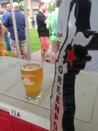 WGOIB poured some of Greenport Brewing's finest selections for the crowd.