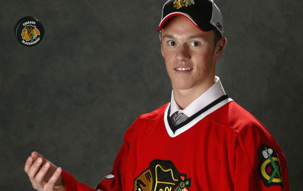 If Eichel is anything like this guy, Buffalo is in for a good, long run at the top.  Photo from blackhawks.com