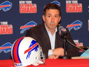 This guy will be running both Buffalo teams... Photo from usatoday.com