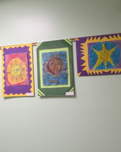 The festival also features art from students at Colden Elementary School.  Photo from coldenfestival.com